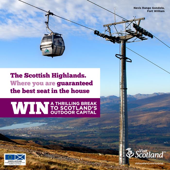 Win A Trip To Scotland!