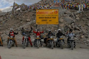 Khardung La (5602m high) would you be brave enough to travel this road?