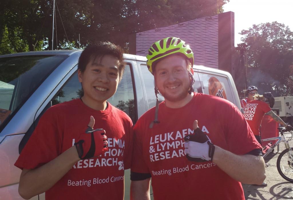 Will & Dat Do London Bikeathon