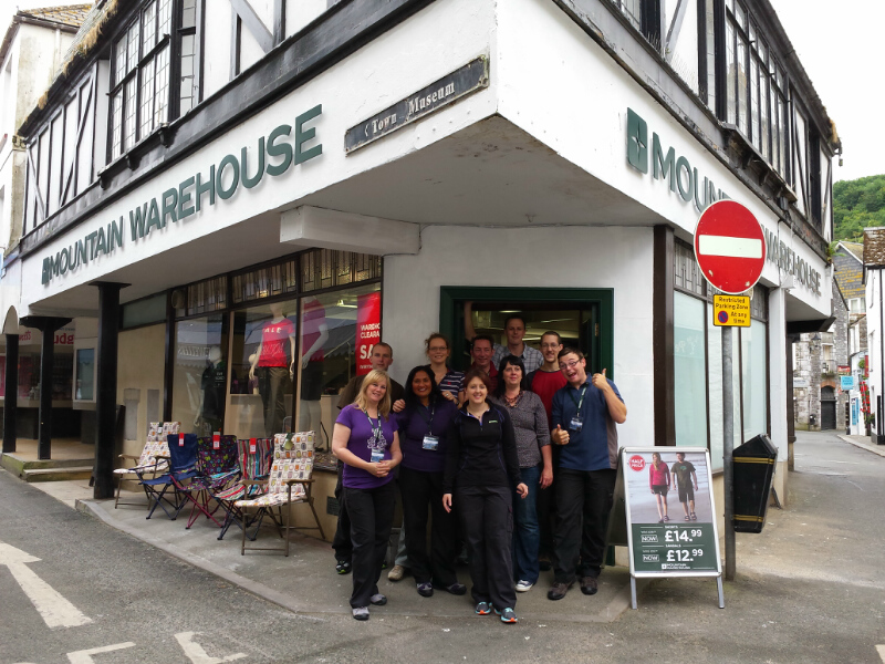 Looe Store Opening Mountain Warehouse Blog
